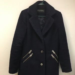 GUESS LOS ANGELES BLUE COAT